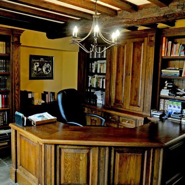 Overthorpe Bespoke Study furniture