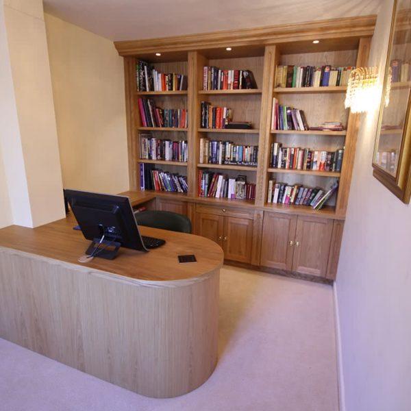 Stratford Bespoke Study furniture